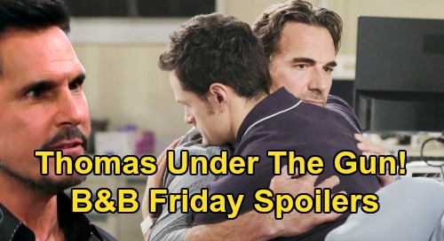 The Bold and the Beautiful Spoilers:Friday, September 6 - Bill Looks For Thomas Evidence - Details of Emma's Death Horrify Ridge