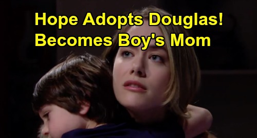 The Bold and the Beautiful Spoilers: Hope Becomes Douglas' Mother - Adopts Thomas' Son, Ridge Furious
