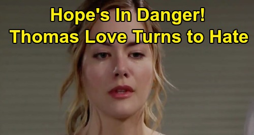 The Bold and the Beautiful Spoilers: Hope in Danger, Thomas' Twisted Love Turns to Revenge – Liam and Brooke Caught in Horror