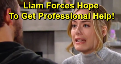 The Bold and the Beautiful Spoilers: Hope Breaks Down - Liam Seeks Professional Help To Save Marriage