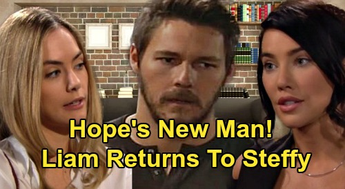 The Bold and the Beautiful Spoilers: Hope's New Man, Liam Always Going to Drift Back to Steffy - 'Lope' Has No Sizzle?
