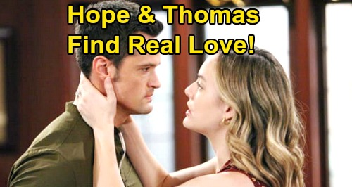 The Bold and the Beautiful Spoilers: Hope Finds Real Love With Thomas – 'Thope' Rising, Liam Can't Be Loyal