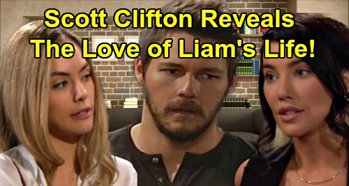 The Bold and the Beautiful Spoilers: Scott Clifton Reveals the True Love of Liam's Life – Steffy or Hope, You'll be Surprised