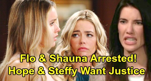 The Bold and the Beautiful Spoilers: Hope Calls Cops on Flo and Shauna After Cabin Showdown – Raging Steffy Demands Justice?