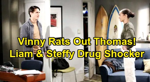 The Bold and the Beautiful Spoilers: Steffy and Liam Track Down Vinny – Thomas' Drugging Secret Finally Comes Out?