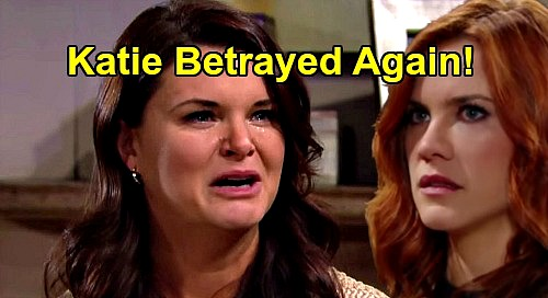 The Bold and the Beautiful Spoilers: Katie Crushed, Betrayed Again - Sally's Fake Illness Reveal Hits Hard