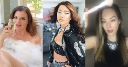 The Bold and the Beautiful Spoilers: Jacqueline MacInnes Wood Shares Amazing B&B Women Transformations - Instagram Fun Makeup Challenge Video