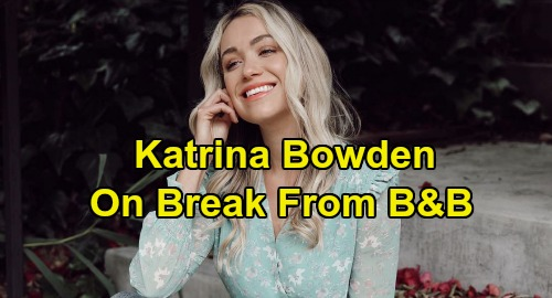 The Bold and the Beautiful Spoilers: Katrina Bowden On Break From B&B - Flo Fulton Will Be Back