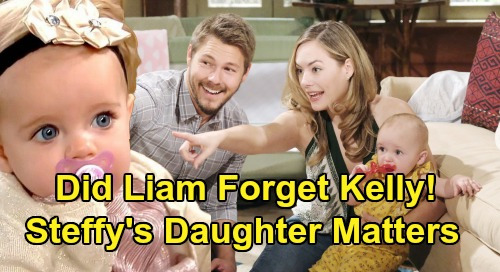 The Bold and the Beautiful Spoilers: Did Liam Forget Kelly's His Child - Steffy's Daughter Matters Too