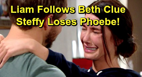 The Bold and the Beautiful Spoilers: Liam Follows Beth Clue, Gets Daughter Answers – Hope and Steffy's Baby Bomb Explodes