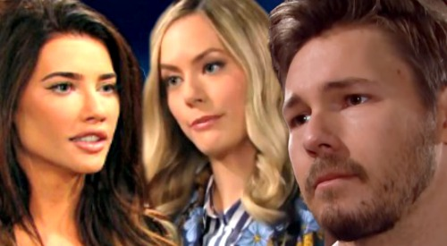 The Bold and the Beautiful Spoilers: Beth Reveal Traps Liam Between Lope and Steam - Steffy and Hope Clash Over Blended Family