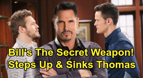 The Bold and the Beautiful Spoilers: Bill Is Steffy & Liam's Secret Weapon – Powerful 'Dollar Bill' Steps Up, Sinks Thomas?