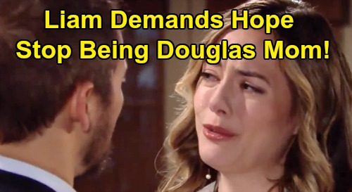 The Bold and the Beautiful Spoilers: Liam's Marriage Proposal Splits 'Lope' - Demands Hope Give Douglas Back To Thomas