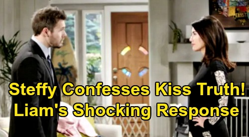 The Bold and the Beautiful Spoilers: Steffy Confesses Kiss Truth – Will Liam Forgive or Let 'Steam' Reunion Crash and Burn?