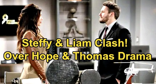 The Bold and the Beautiful Spoilers: Steffy and Liam Clash Over Hope & Thomas – Rely on Zoe to Figure Out Twisted Agenda