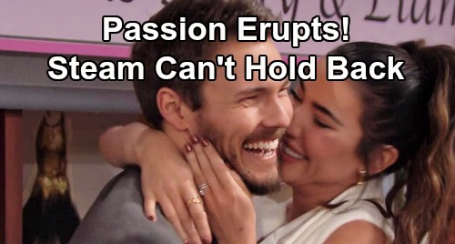 The Bold and the Beautiful Spoilers: Steffy and Liam Fireworks - 'Steam' Passion Erupts, Couple's On Reunion Road