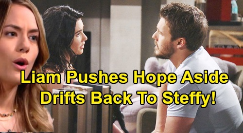 The Bold and the Beautiful Spoilers: Liam Pushes Hope Aside For Steffy – B&B's Tricky Road Back to 'Steam'