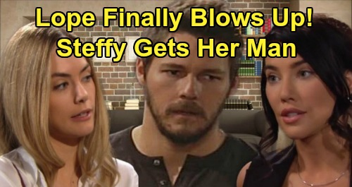 The Bold and the Beautiful Spoilers: Liam and Hope Turn Against Each Other - 'Lope' Finally Blows Up, Steffy Gets Her Man