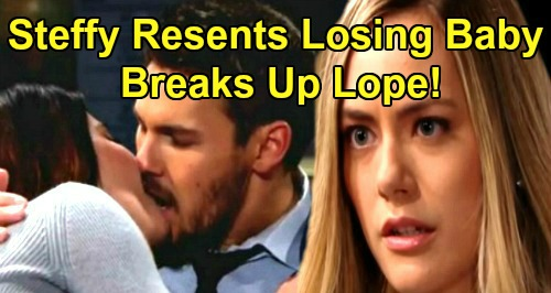 The Bold and the Beautiful Spoilers: Steffy Resentful After Hope