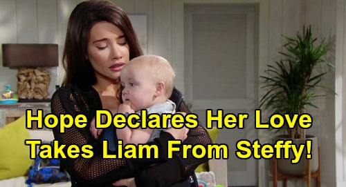 The Bold and the Beautiful Spoilers: Hope Declares Love For Liam