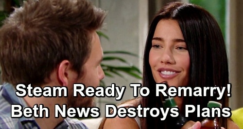 The Bold and the Beautiful Spoilers: Liam and Steffy Ready To Remarry – Beth Reveal Destroys Steam's Future