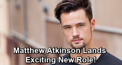 The Bold and the Beautiful Spoilers: Matthew Atkinson's Exciting New Role