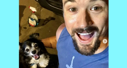The Bold and the Beautiful Spoilers: Matthew Atkinson Posts Adorable Dog Instagram Video - Sweet Pup Helps Dad Work Out