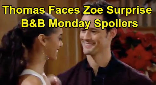 The Bold and the Beautiful Spoilers: Monday, December 23 - Brooke's Last Chance To Save Marriage - Thomas Faces Zoe Surprise