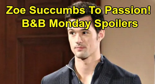 The Bold and the Beautiful Spoilers: Monday, December 30 - Hope Panics Liam, Reveals Thomas Overnight Date - Zoe Falls For Passion