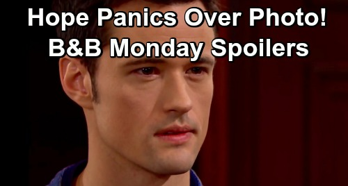 The Bold and the Beautiful Spoilers: Monday, June 17 - Hope Panics Over 'Lost' Photo of Phoebe - Brooke Sees Through Thomas
