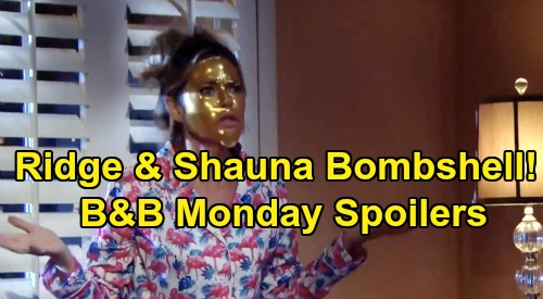 The Bold and the Beautiful Spoilers: Monday, October 28 - Ridge & Shauna's Bedroom Bombshell - Brooke's Troubling History Repeats
