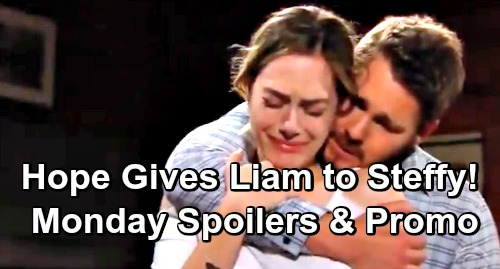 The Bold and the Beautiful Spoilers: Monday, May 27 - Thomas Gets Fierce Blast - Hope Gives Liam Back To Steffy
