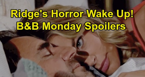 The Bold and the Beautiful Spoilers: Monday, September 16 - Ridge Horrified To Wake Up Next To Shauna - Brooke Rushes To Eric