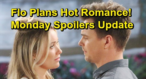 The Bold and the Beautiful Spoilers: Monday, May 13 – Flo Plans Future with Wyatt – Liam Desperate to Save Marriage
