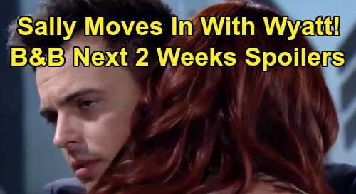 The Bold and the Beautiful Spoilers Next 2 Weeks: Sally Reunites With Wyatt - Vinny Rebels Against Thomas Douglas Damage