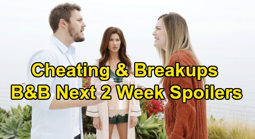 The Bold and the Beautiful Spoilers Next 2 Weeks: Steffy & Liam Crush Hope – Flo Pursues Wyatt - Death Threat, Cheating and Divorce