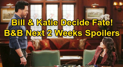 The Bold and the Beautiful Spoilers Next 2 Weeks: Penny's Shocker Changes Sally's Future – Bill & Katie Decide 'Batie' Fate