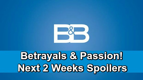 The Bold and the Beautiful Spoilers Next 2 Weeks: Brooke Freaks Over Thomas' Treachery – Sally's Admission Stuns Wyatt