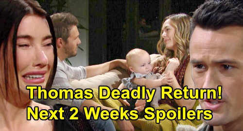 The Bold and the Beautiful Spoilers Next 2 Weeks: Thomas' Deadly Return - Xander's Backlash – Flo's Cabin Disaster