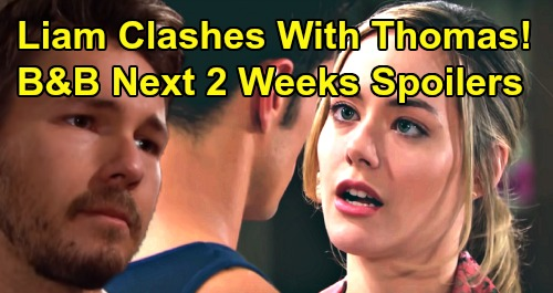 The Bold and the Beautiful Spoilers Next 2 Weeks: Shauna Wins Ridge - Steffy's Two Big Showdowns - Liam Clashes With Thomas