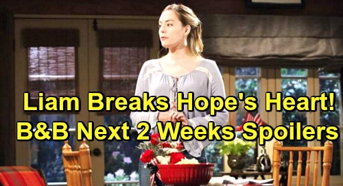 The Bold and the Beautiful Spoilers Next 2 Weeks: Liam Breaks Hope's Heart, Thomas Marriage Wins - Xander's Deadly Murder Trail