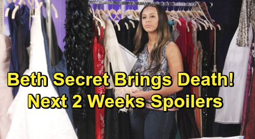The Bold and the Beautiful Spoilers Next 2 Weeks: Steffy Shocks Flo With Phoebe Reveal – Beth Secret Brings Tragic Death