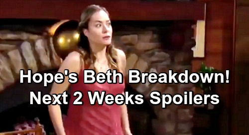 The Bold and the Beautiful Spoilers Next 2 Weeks: Hope Breaks Down, Confuses Phoebe With Beth – Wyatt's Bombshell Stuns Flo