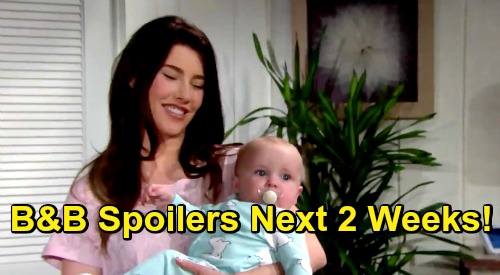 The Bold and the Beautiful Spoilers Next 2 Weeks: Xander Forces Confession - Beth News Rocks Thomas - Steffy Comforts Liam