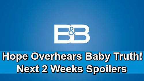 The Bold and the Beautiful Spoilers Next 2 Weeks: Flo's Big Blunder, Hope Hears Baby Swap Fight – Thomas' Unbelievable Treachery