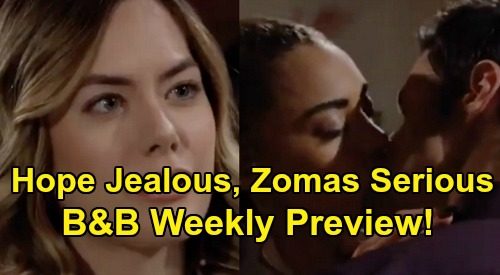The Bold and the Beautiful Spoilers: Week of December 30 Preview – Thomas & Zoe Romance Serious, Hope Jealous – Brooke's Risky Choice
