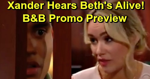 The Bold and the Beautiful Spoilers: Hot Week of May 27 Promo Preview – Xander Overhears Baby Secret, Learns Beth's Alive