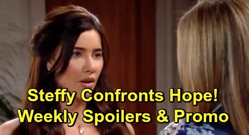 The Bold and the Beautiful Spoilers: Week of July 15 Preview – Steffy Confronts Hope About Marrying Thomas – Liam's Wedding Drama