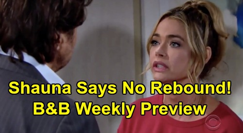 The Bold and the Beautiful Spoilers: Week of March 30 Preview – Shauna Refuses to Be Ridge Rebound – Brooke Dumped & Humiliated