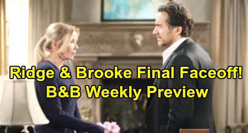 The Bold and the Beautiful Spoilers: Week of November 18 Preview - Ridge & Brooke's Explosive Final Faceoff – Total 'Bridge' Destruction